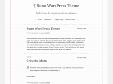 Runo WordPress-teema